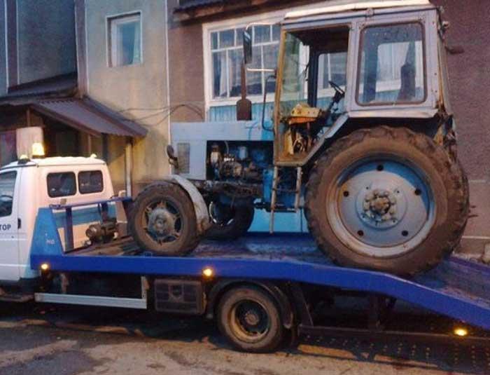 traktor slep sluzba